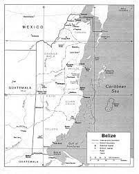 Blank Map Of The 13 Colonies by Belize General Information Facts And Maps