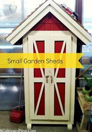 small garden shed love a cultivated nest