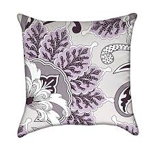 purple accent pillows