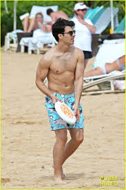 joe jonas age 24 on kauai hi jan 5 2014 photo via just