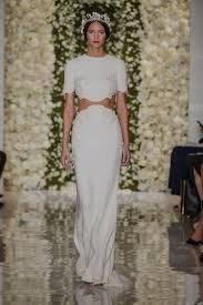 two wedding dress reem acra bridal fall 2015 collection aisle