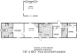 Floor Plans For Mobile Homes Single Wide Clayton Yes Series Mobile Homes 1st Choice Home Centers