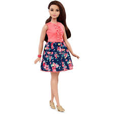 Barbie Style Doll Reviews And by Barbie Fashionistas Doll 26 Spring Into Style Curvy Dmf28