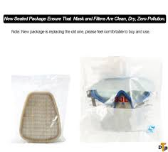 ventilation mask for painting sansido respirator gas mask safety mask cover paint chemical mask