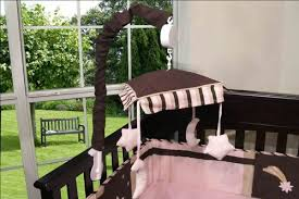 Moon Crib Bedding Sisi Bedding Sets Sisi Baby Boutique Brown Pink And