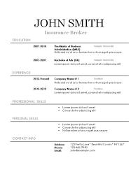 printable resume exles free printable resume forms templates sles 17 template