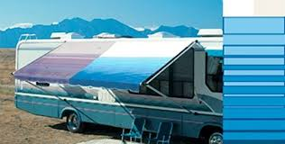 Rv Replacement Awning Amazon Com Carefree 80147900 Ocean Blue 14 U0027 Universal Replacement