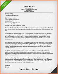 sample registered nurse cover letter 5 registered nurse cover