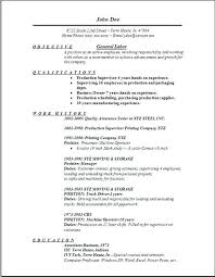 resume example resume for customer service specialist of