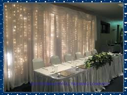wedding backdrop led 3m x 3m white silk wedding backdrop with led light wedding curtain
