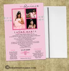 invitaciones para quinceanera quinceanera photo invitations