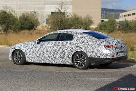next gen 2018 mercedes benz cls spy shots gtspirit