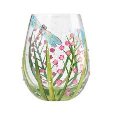 stemless wine glasses designs by
