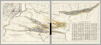 Maps Of Pa General Map Of The Anthracite Coal Fields Of Pennsylvania And