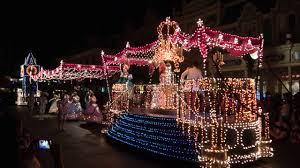 disney world light parade walt disney world electric light parade and wishes show youtube
