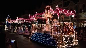 electric light parade disney world walt disney world electric light parade and wishes show youtube