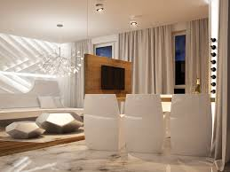 key concepts home design futuristic interior design