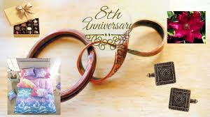 8th anniversary gift ideas for anniversary gift archives gifts and wish
