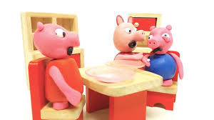 baby peppa pig george tooth fairy play doh stop motion