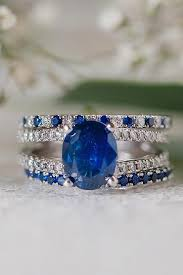 Sapphire Wedding Rings by 27 Magnificent Sapphire Engagement Rings Oh So Perfect Proposal