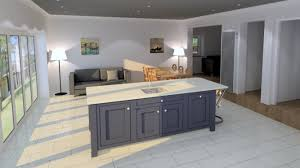 island large kitchen island design