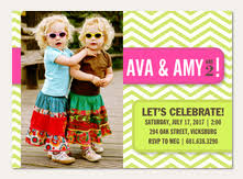 twin birthday invitations simply to impress