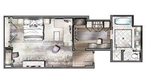 viceroy floor plans suite accommodations viceroy l ermitage beverly hills