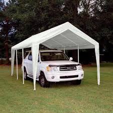 10x20 Carport King Canopy 10 X 20 Ft Hercules Snow Load Canopy White