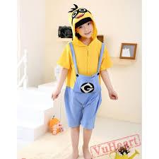 Cheap Halloween Costumes Pajamas Minions Boys U0026 Girls Cartoon Despicable Minions Summer Kigurumi Onesies
