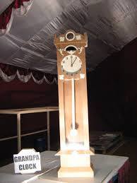 Grandpa Clock Drool Fest Uniquely Priya