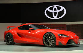 toyota supra side view from the games to real world