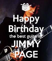 happy birthday guitarist jimmy poster