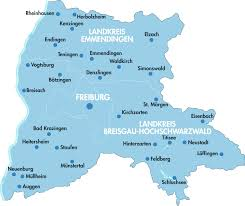 Freiburg Germany Map by Travelling With Rvf