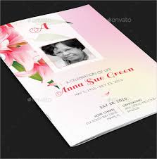 baby funeral program memorial card template nicetobeatyou tk