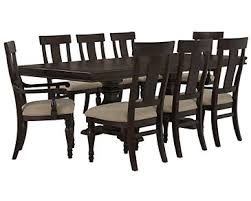 Dark Dining Room Table City Furniture Sterling Dark Tone Wood Dining Room