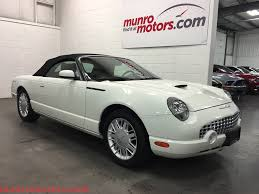 2002 Ford Thunderbird Premium Stock by 2002 Ford Thunderbird Sold Removable Hard Top And Soft Top White