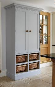 Standalone Kitchen Cabinets by Furniture Free Standing Kitchen Cabinets In White With Wicker