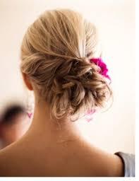 flower hair bun wedding ideas bun weddbook