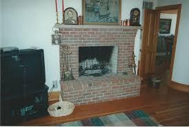 brick fireplaces gray masonry