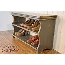 Oak Shoe Storage Cabinet Waverly Oak Shoe Storage Bench In Light Oak Finish 8 Pairs Solid