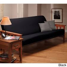 stretch leather futon slipcover free shipping on orders over 45
