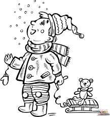 child snorkeling coloring page free printable coloring pages