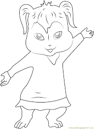 squeakquel coloring page free alvin and the chipmunks coloring