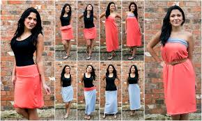 convertible dress skirt and more does it transform 8 ways