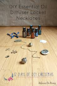 sted necklaces diy essential diffuser locket necklaces refocus on being