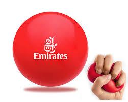 pu stress ball round shape red color pu stress ball anti