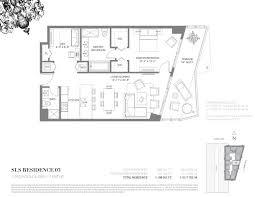 Echo Brickell Floor Plans Sls Residences And Hotel Brickell