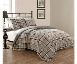 Plaid Bed Set Clement Plaid Comforter Set