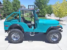 teal jeep for sale cj5 jeeps for sale