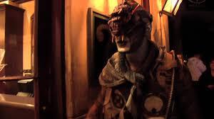 johnny plague at halloween haunt youtube